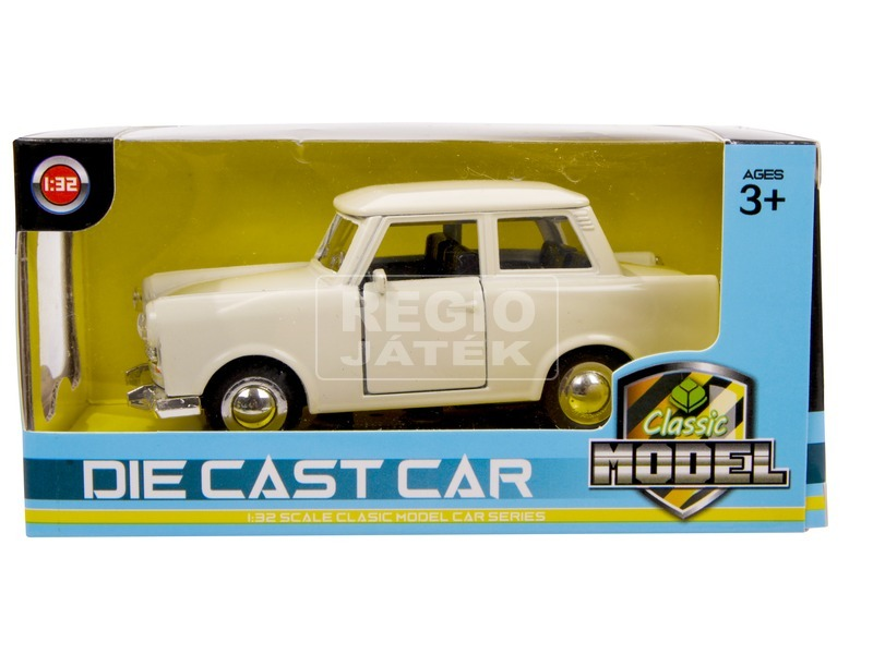 Die Cast - visszahúzós fém autó 1 /32 - többféle