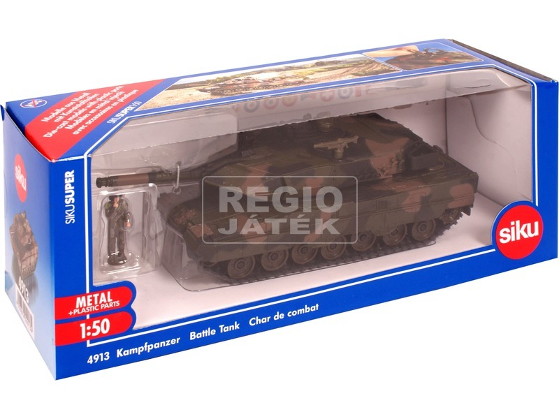 SIKU: Leopard tank 1:50 - 4913