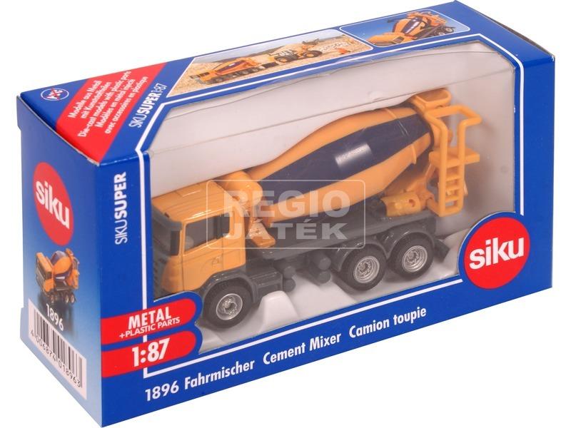SIKU: Scania betonkeverő 1:87 - 1896
