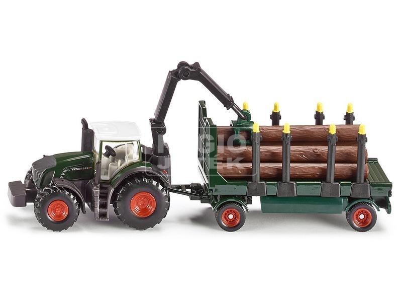kép nagyítása SIKU: Fendt traktor rönkszállítóval 1:87 - 1861