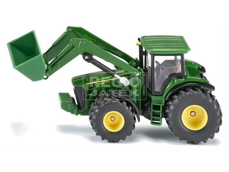 kép nagyítása Siku: John Deere traktor markolóval 1:50 - 1982