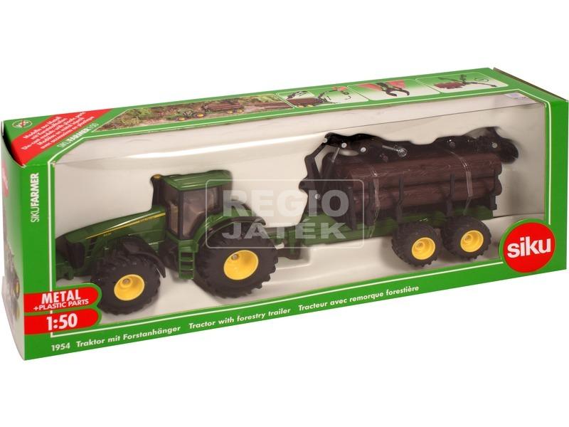 Traktor rönkökkel