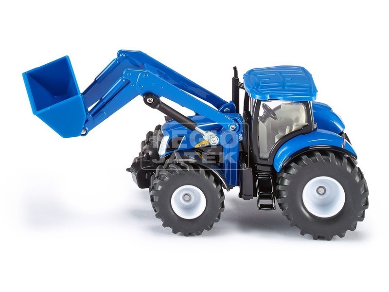 Siku: New Holland T7070 markolós traktor 1:50 - 1986