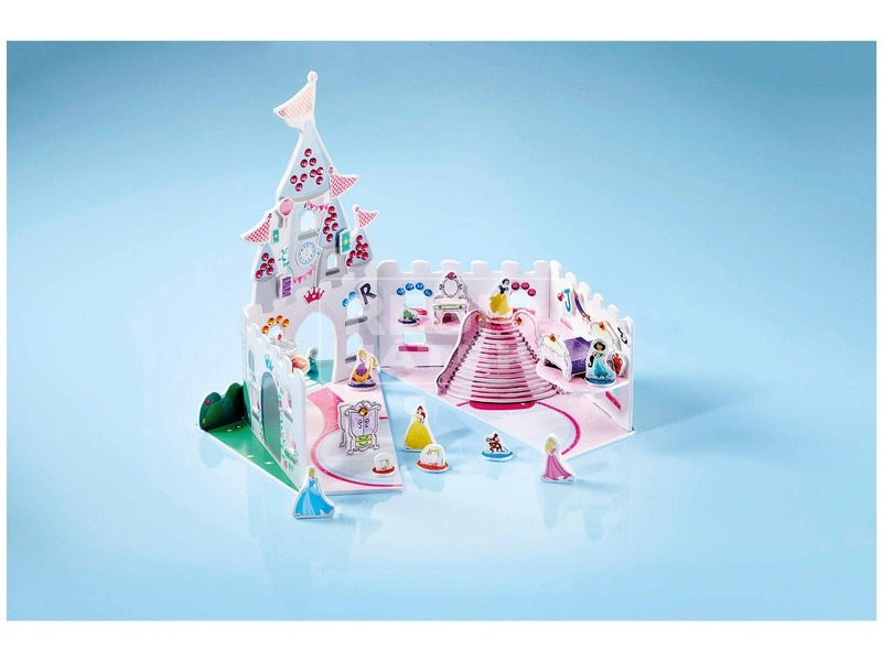 kép nagyítása Disney hercegnők kastély készlet