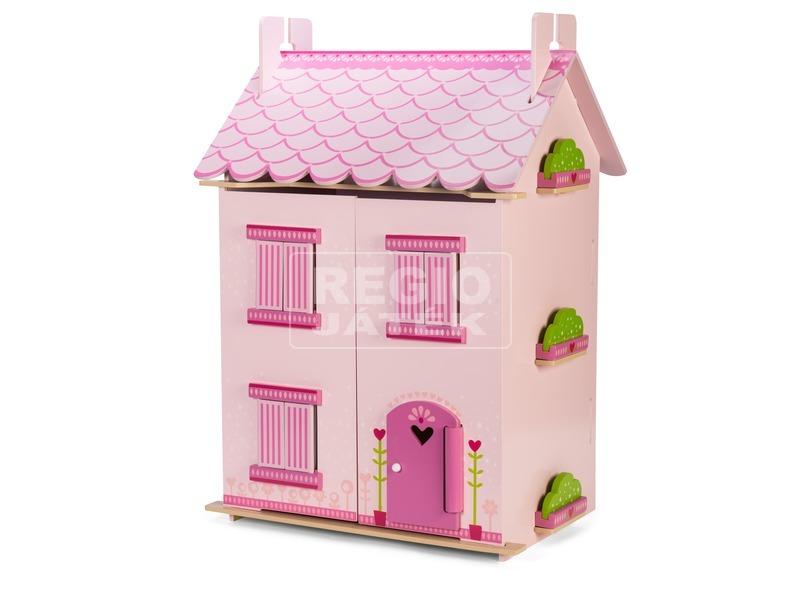 Le Toy Van: Rózsabimbó fa babaház bútorokkal