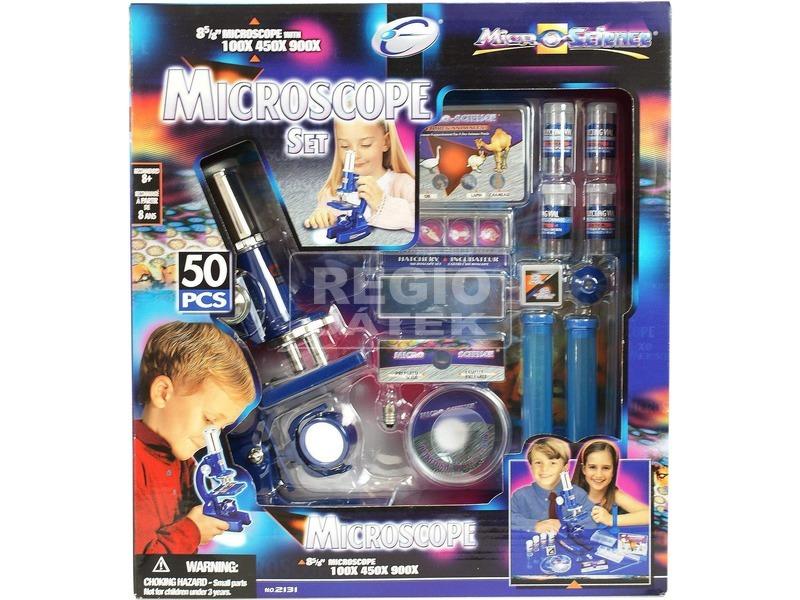 Mikroszkóp 50 darabos készlet