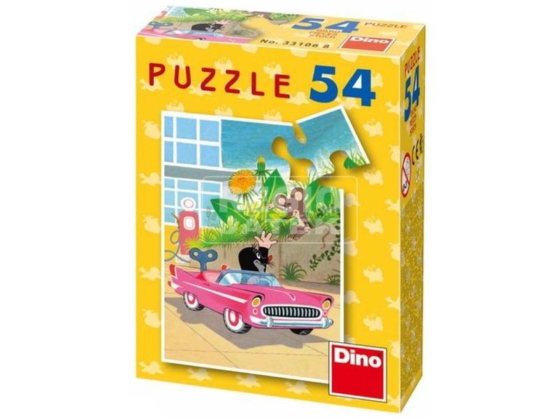 kép nagyítása Kisvakond mini 54 darabos puzzle - többféle