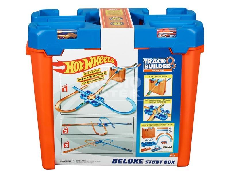 Hot Wheels Track Builder - hordozható játékszett