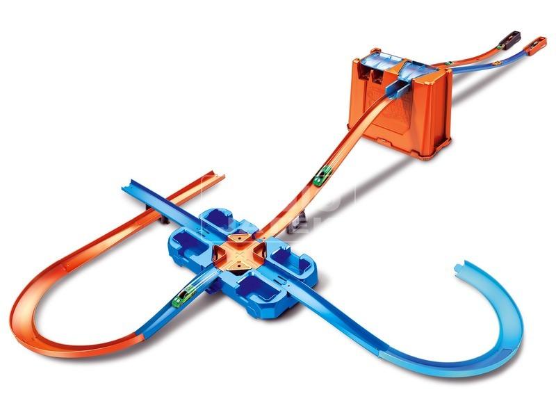 kép nagyítása Hot Wheels Track Builder - hordozható játékszett