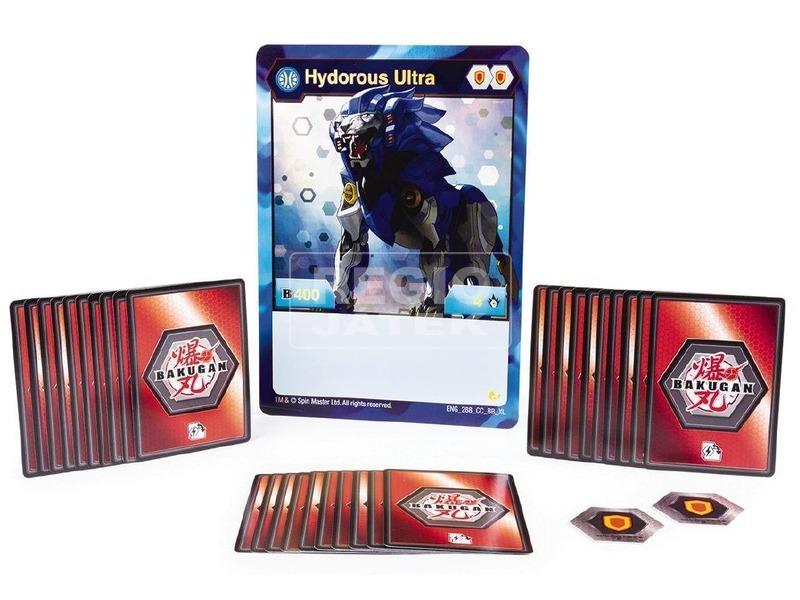kép nagyítása Bakugan Battle Brawlers kártya készlet