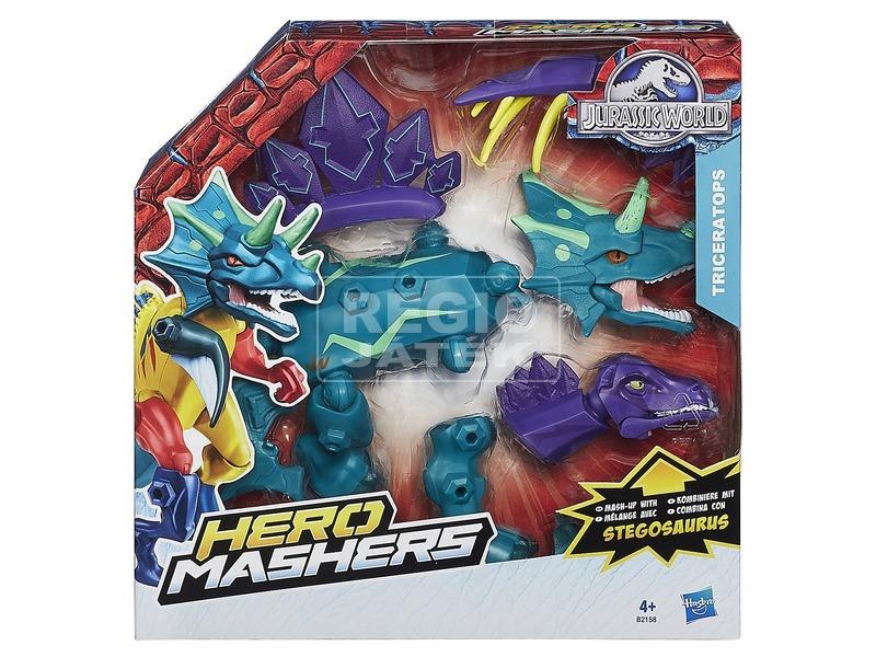 Jurassic World: Hero Mashers hibrid dínó készlet - többféle