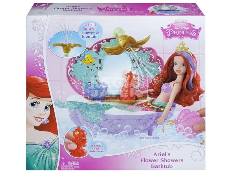 Disney Ariel virágdíszes fürdőkádja CDC