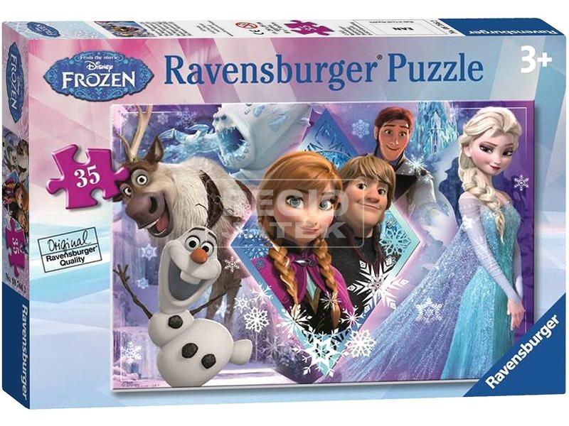 Jégvarázs 35 darabos puzzle