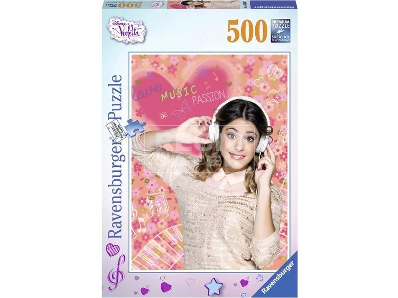 Violetta 500 darabos puzzle