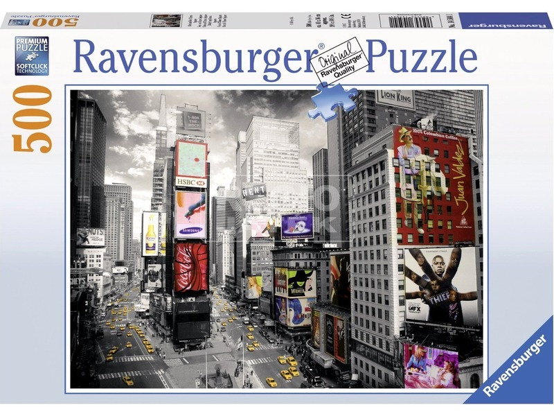 Times Square 500 darabos puzzle
