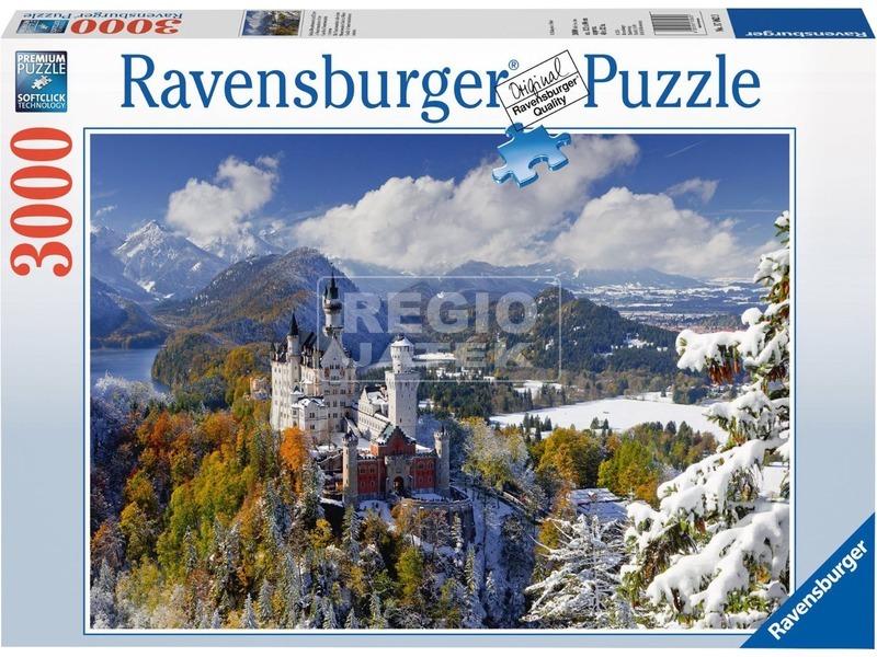 Neuschwanstein-i kastély 3000 darabos puzzle