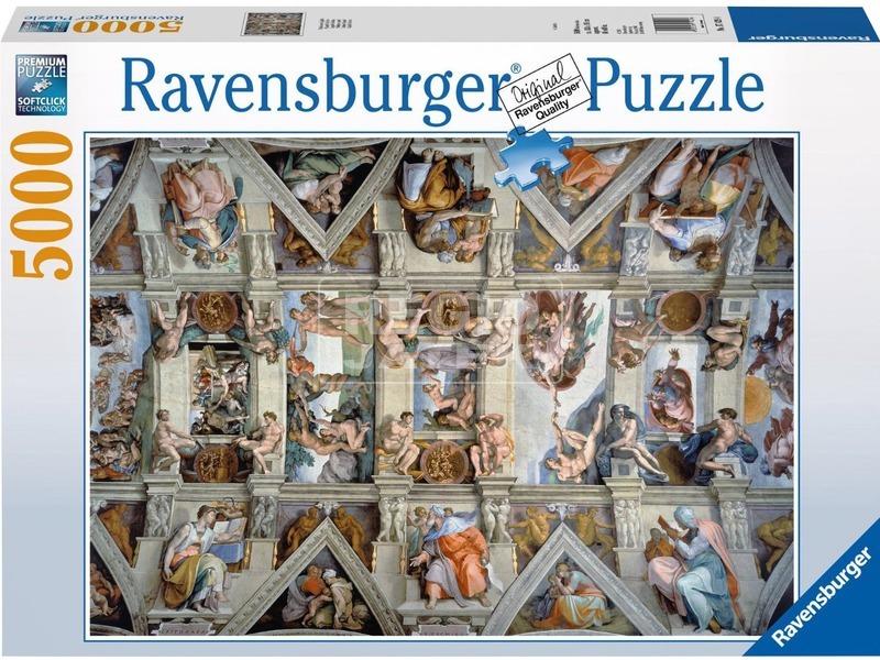 A Sixtus-i kápolna 5000 darabos puzzle