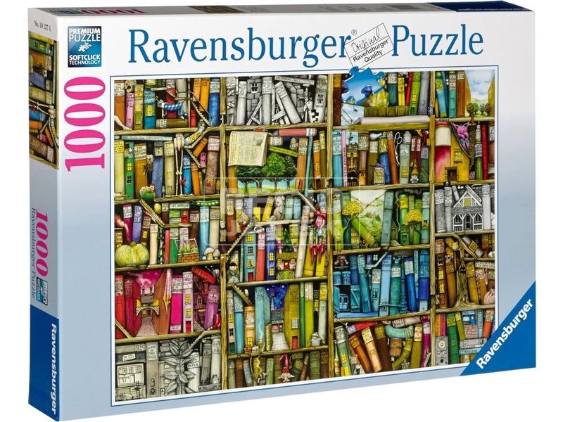 Bizarr könyvesbolt 1000 darabos puzzle