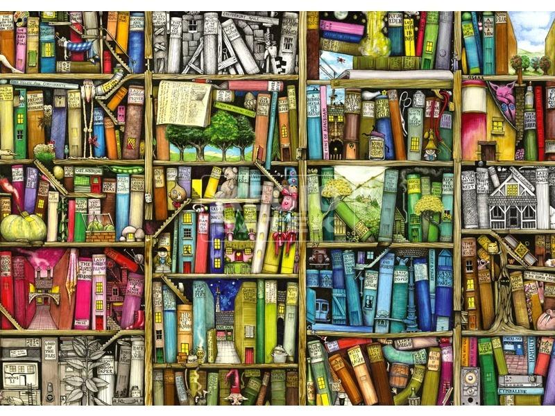 kép nagyítása Bizarr könyvesbolt 1000 darabos puzzle