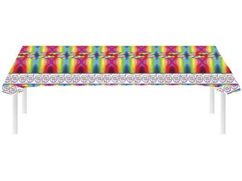 Happy Birthday terítő - 270 x 136 cm