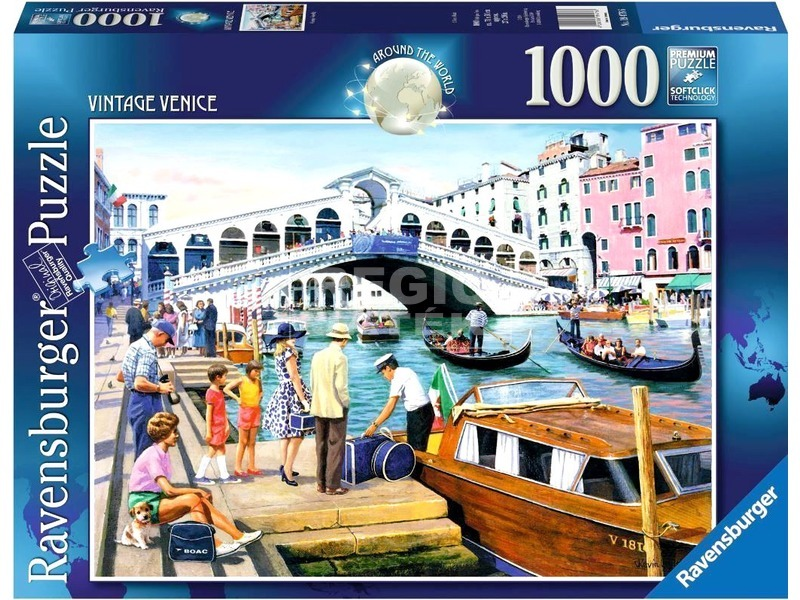 Velence 1000 darabos puzzle