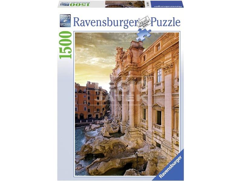Trevi szökőkút 1500 darabos puzzle