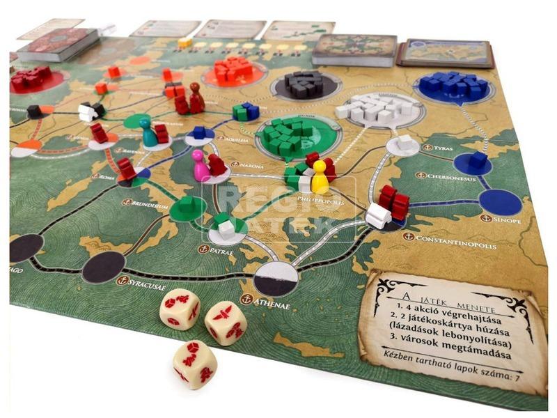 kép nagyítása Pandemic: Róma bukása