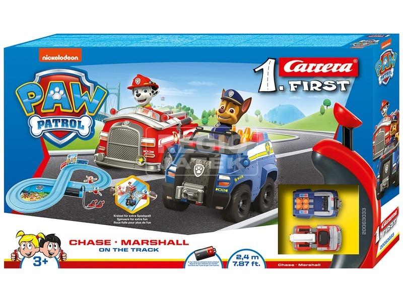 Carrera GO Mancs őrjárat On The Track autópálya