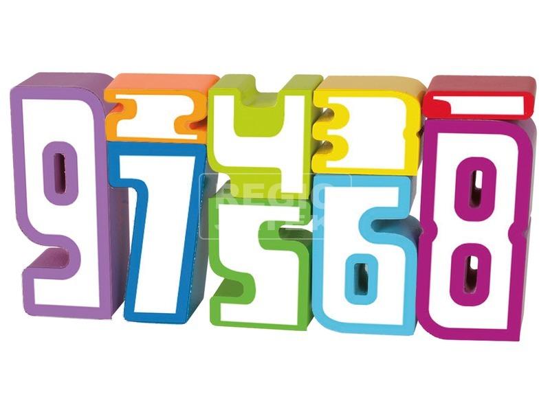 kép nagyítása Eichhorn fa számok 9 darabos készlet