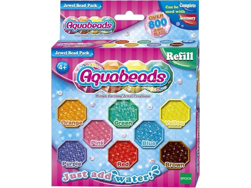 Aqua Beads ékszer gyöngy 800 darabos utántöltő