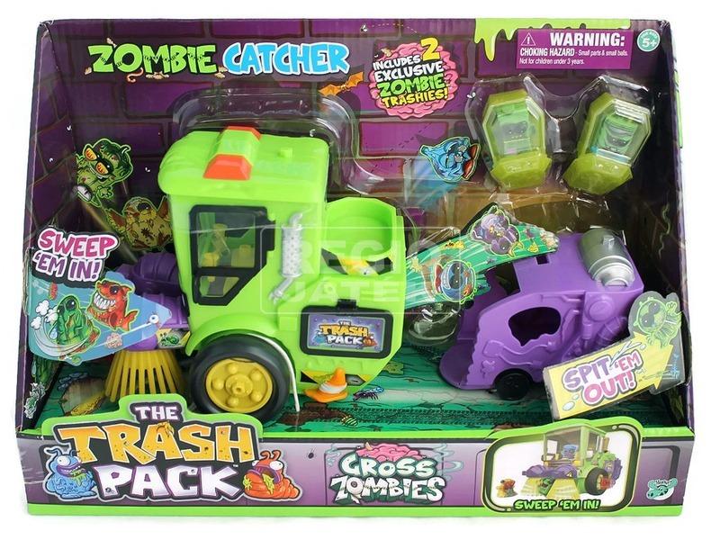 Trash Pack zombi 8. évad Kukabúvár utcaseprő autó
