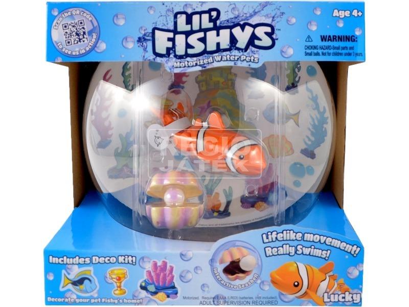 Lil Fishys akvárium és hal készlet - többféle