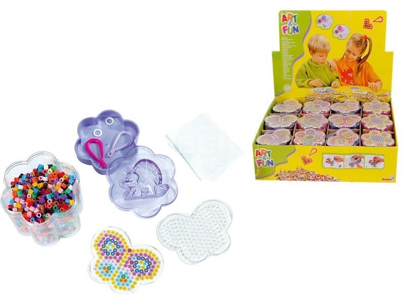 Art and Fun vasalható gyöngyök dobozban - többféle