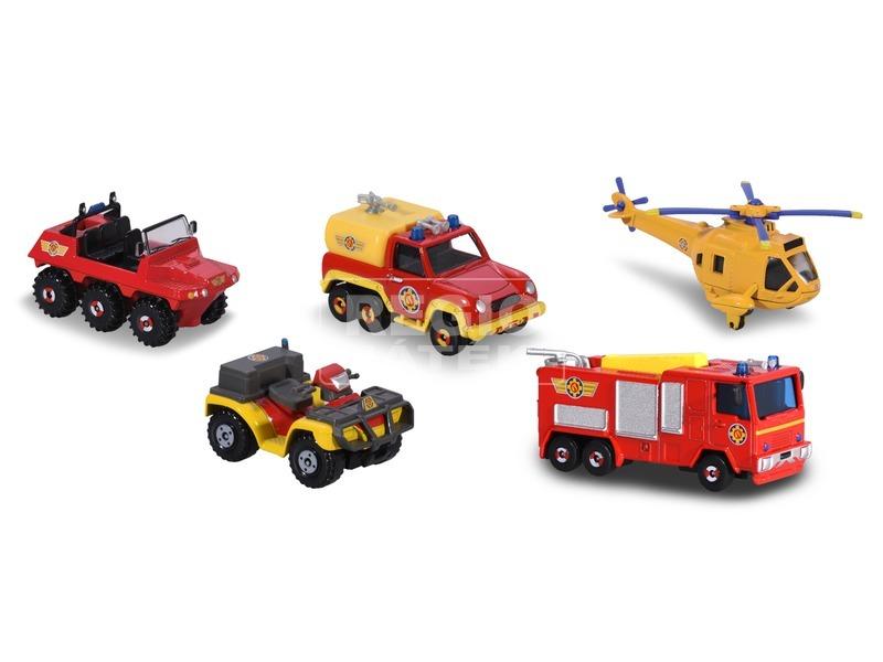 kép nagyítása Sam a tűzoltó jármű 5 darabos készlet - 1:64