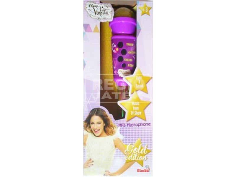 Violetta zenélő mikrofon