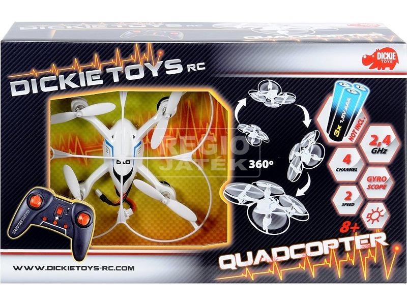 Dickie RC távirányítós quadrocopter - 19 cm