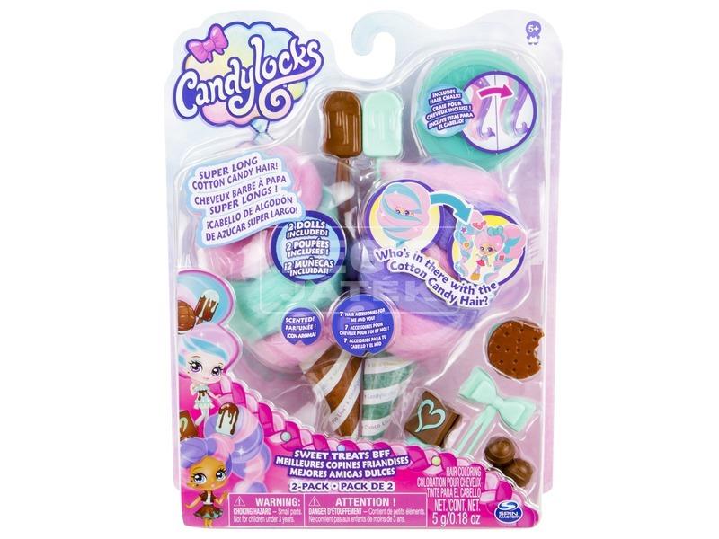 kép nagyítása Candylocks alap baba 2 darabos