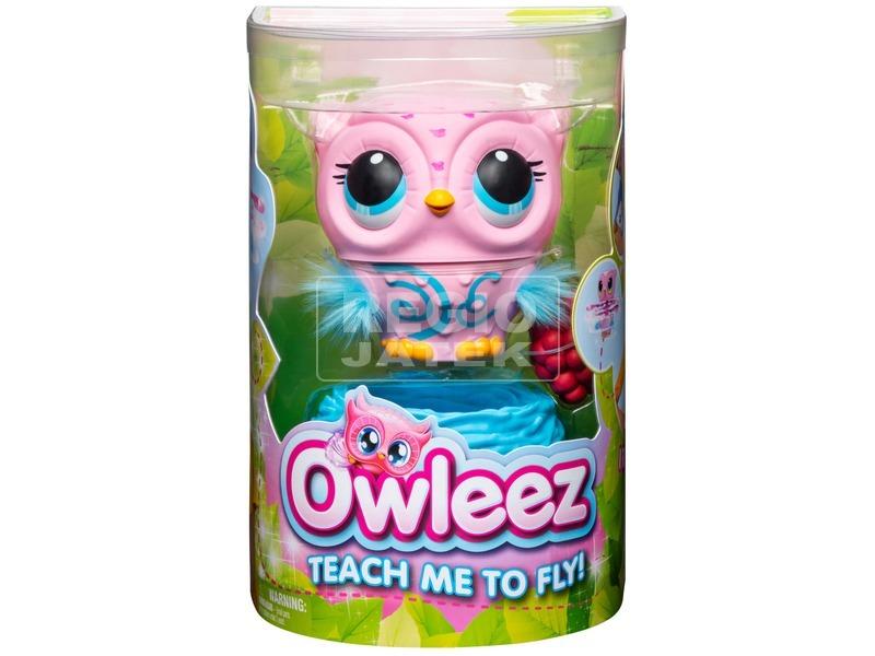 Owleez interaktív bagoly rózsaszín