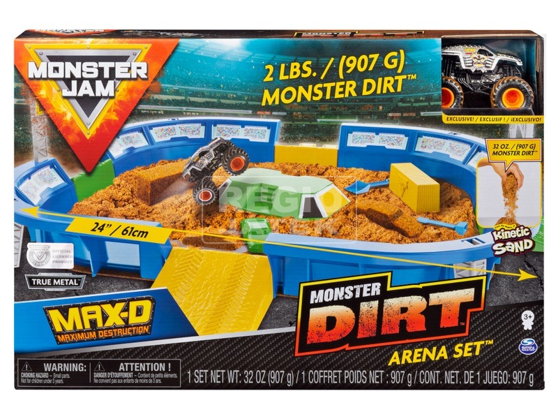 Monster Jam Dirt Arena játékkészlet