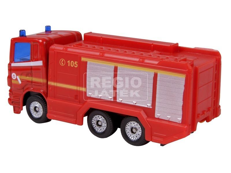 kép nagyítása SIKU Scania tűzoltó teherautó 1:87 - 1036