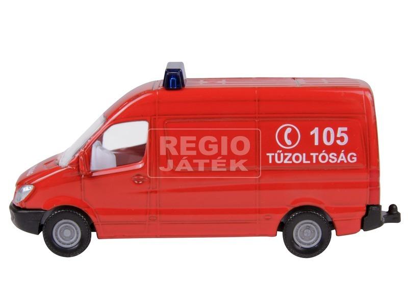 kép nagyítása SIKU Magyar tűzoltóautó készlet 1:87 - 1818