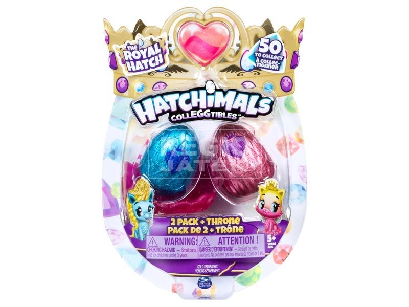 Hatchimals gyűjthető tojás fészekkel, 2 darabos