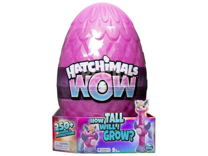 Hatchimals WOW - nagyra növő interaktív figura
