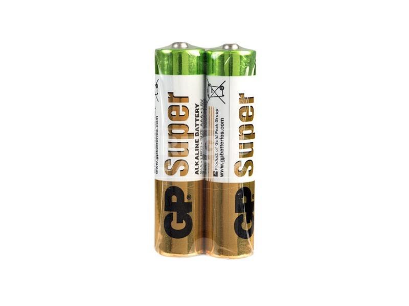 GP Super AAA ceruzaelem 2 darabos készlet