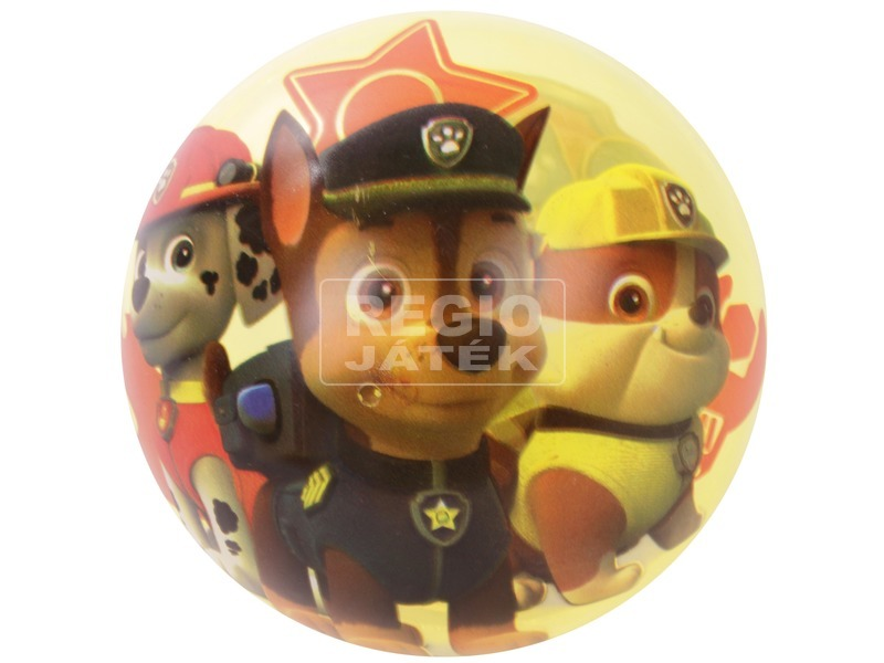 kép nagyítása Világítós pattogó labda 10 cm Mancs őrjárat