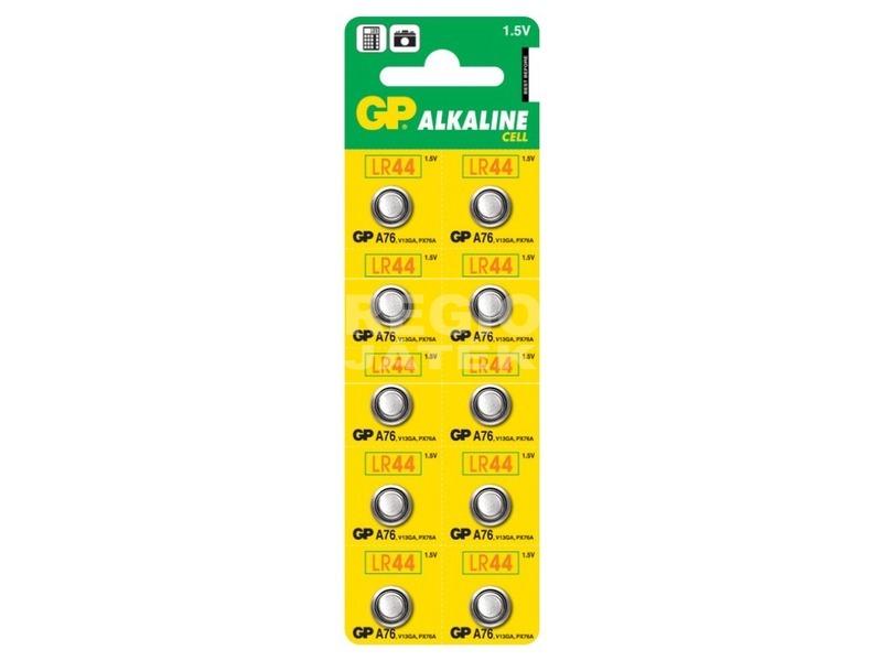 GP Alkaline LR44 gombelem