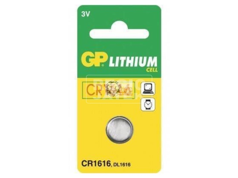 GP CR1616 lítium gombelem