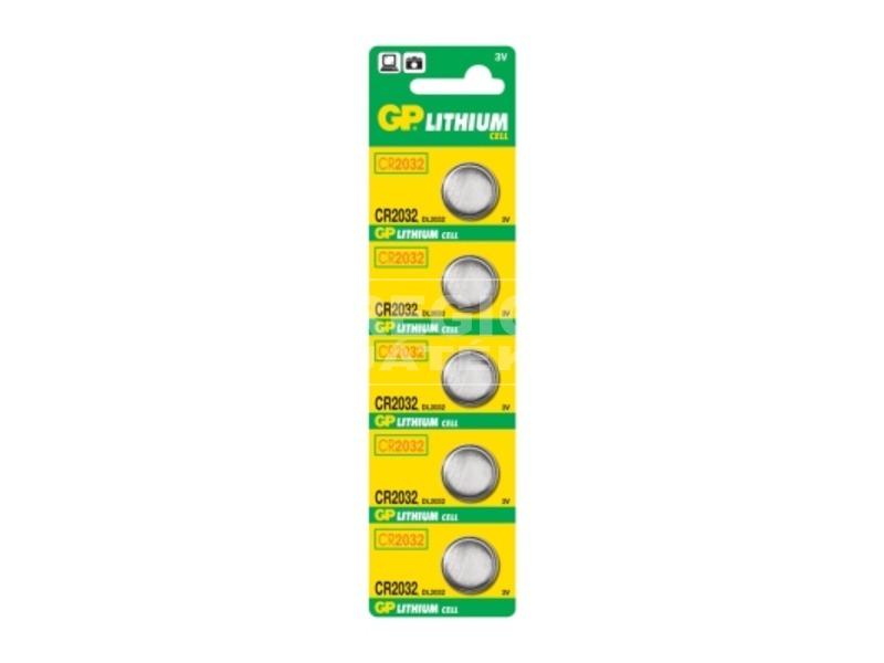 GP Lithium CR2032 gombelem
