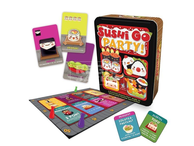 kép nagyítása Sushi Go Party társasjáték