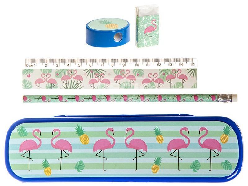 Flamingó írószer készlet